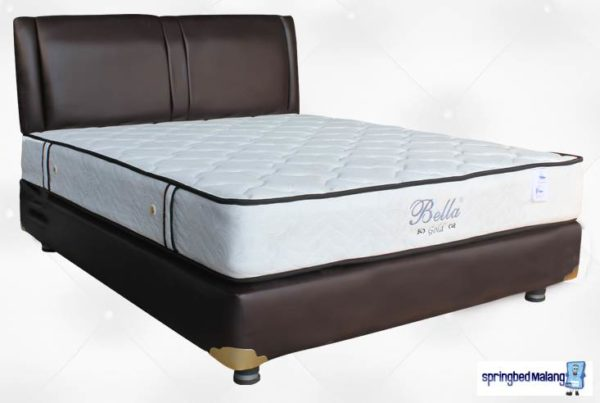 harga bella spring bed gold malang