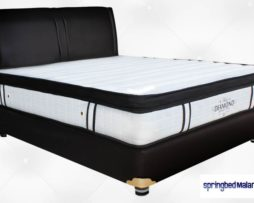 harga bella spring bed diamon latex malang