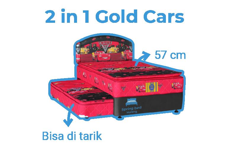 harga springbed bella gold 2in1