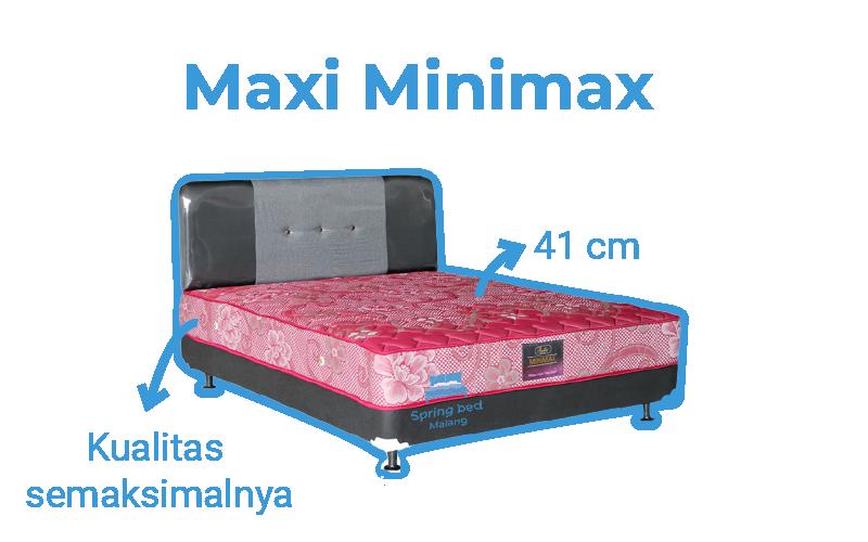 harga springbed bella maxi minimax