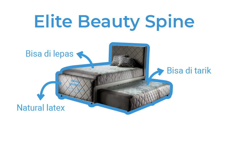 Harga elite beauty spine 2in1